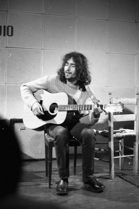 Al Folkstudio di Roma negli anni '70