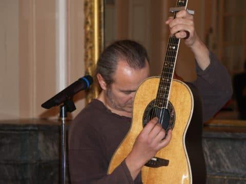 "Al festival ""Teranova"", Francia 2005"