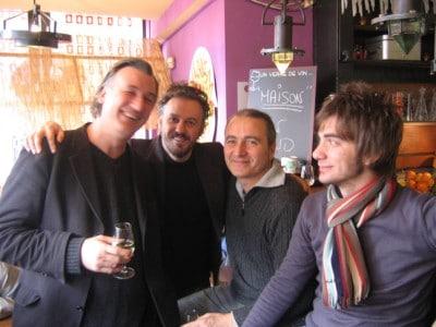 Franco Fosca con Antonio Bertoli, Marco Parente, Gianluca Gabrieli