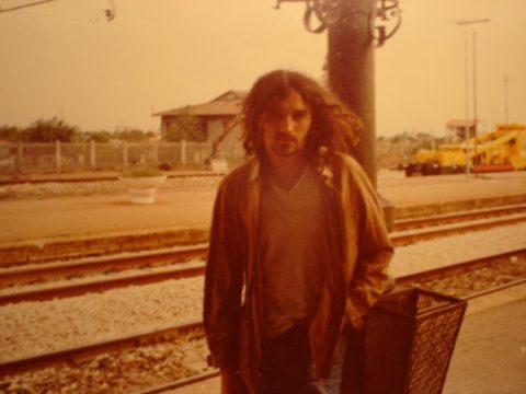 Franco negli anni '70 (Stazione di Albenga)