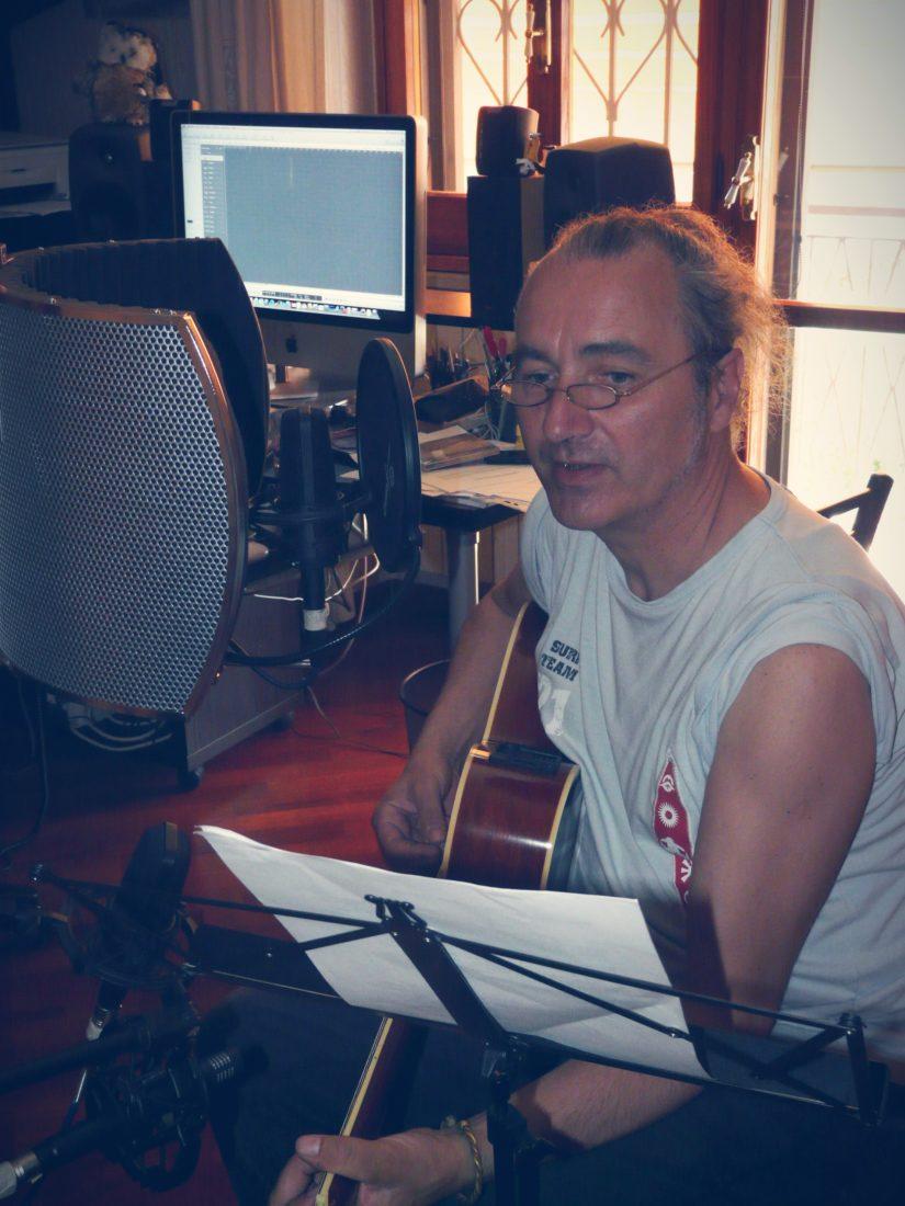 In studio di registrazione